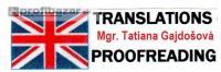 Preklady a korektúry textov v angličtine