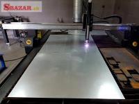 CNC Plazma ploter, 4D rotačná osa - palenie Jäc