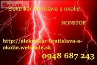 poruchová služba -elektrikár Bratislava a okoli