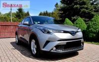 Toyota C-HR 2018 plné kožené sedadlá, Navi