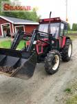 Traktor Zetor 7245 + čelní nakladač