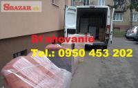 Sťahovanie Banská Štiavnica 0950453202Vypratáv