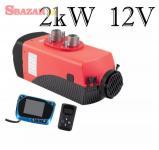Nezávislé kúrenie 2kW, 12V s diaľkovým ovlád