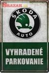 Vyhradené parkovanie - ŠKODA
