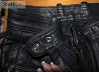 Kožené nohavice v top stave ako nové