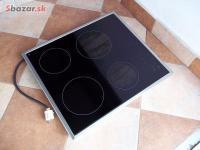 Sklokeramická elektrická vestavná varná deska