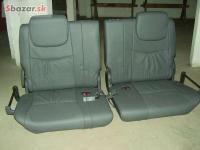 Toyota Prado sedačky